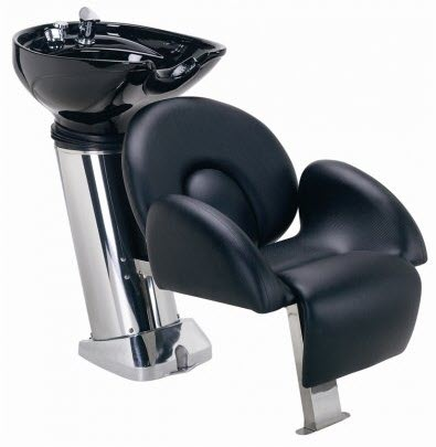 Paragon 40a porcelain Shampoo Unit with pedestals
