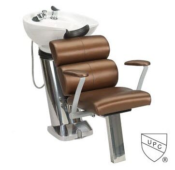 Paragon 50a Shampoo Unit White on Brown