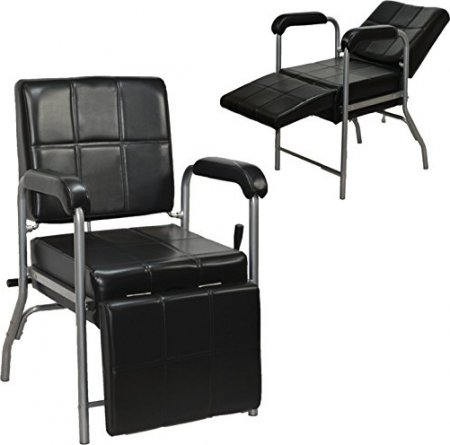 LCL Beauty Black Deluxe Shampoo Chair