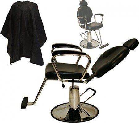 LCL Beauty Reclining Barber Chair
