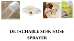 detachable sink hose sprayer