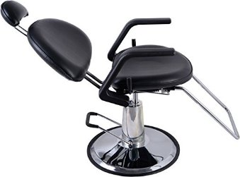 Giantex Reclining Hydraulic Salon Barber Chair