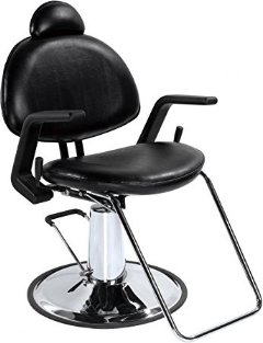 Hydraulic Recline Barber Chair Sh&oo  sc 1 st  Portable Sh&oo Bowl & Best Reclining Salon Chair with Headrest in 2018