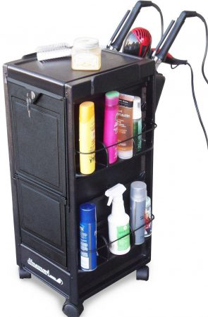 N20-PH KD Salon Cart Roll-about Trolley Lockable