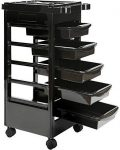 Saloniture Beauty Salon Rolling Trolley Cart