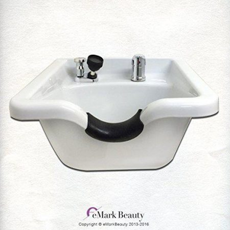 Shampoo Bowl White ABS Plastic TLC-W11