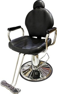 TMS All Purpose Reclining Hydraulic Barber Chair