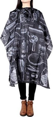 Anself Haircut Apron Hairdressing Gown Cape