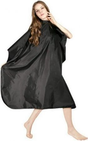 Icarus Professional Nylon Hair Styling Cape with Snaps