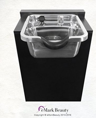 Polished Stainless Steel Shampoo Bowl Sink TLC-1168-KRGT-FC