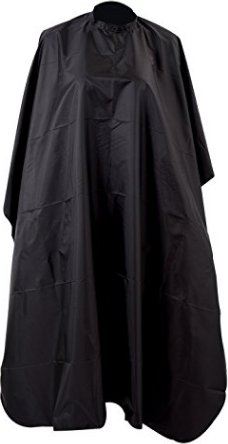 Sodial(TM) Black Hair Cut Barbers Cape Gown